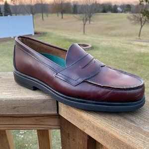 Red Wing SD RIGHT AMPUTEE Penny Loafers Burgundy